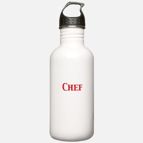 Chef Water Bottle