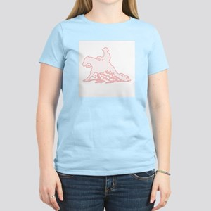 Women's Pink T-Shirt Western Reining