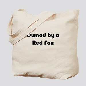 Personalized Red Fox Tote, Add Your Photo