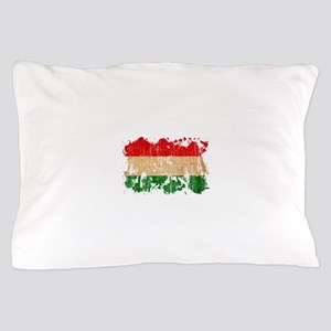 Hungary Flag Pillow Case