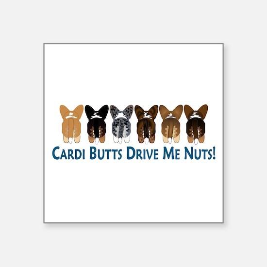 Cardi Butts 10x3 Sticker