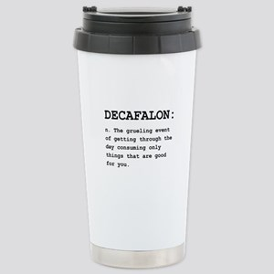 Decafalon Definition Black.png Stainless Steel Tra