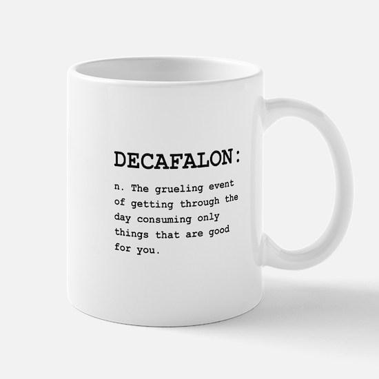 Decafalon Definition Black.png Mug