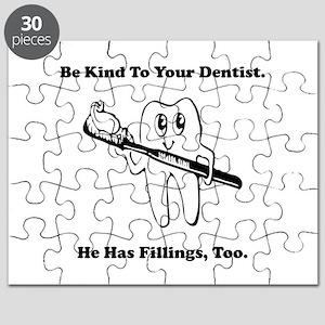 Dentist Filling Black Puzzle