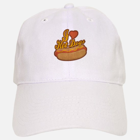 ILoveHotdogs.png Baseball Baseball Cap