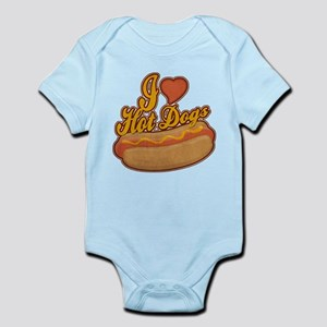 ILoveHotdogs Infant Bodysuit