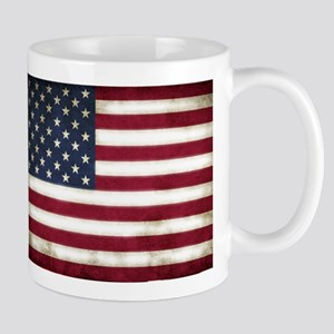 Vintage, American Flag Mug