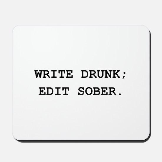 Edit Sober Black.png Mousepad