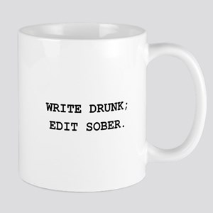 Edit Sober Black Mug