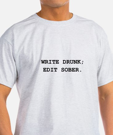 Edit Sober Black.png T-Shirt