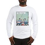 Plumbers butt crack Long Sleeve T-Shirt