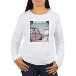 Crash-text Dummies Women's Long Sleeve T-Shirt