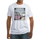 Crash-text Dummies Fitted T-Shirt