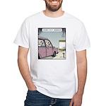 Crash-text Dummies White T-Shirt