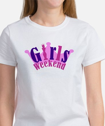tiara girl.png Women's T-Shirt