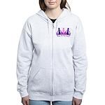 Shop 'til We Drop Women's Zip Hoodie