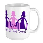 Shop 'til We Drop Large Mug