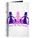 Shop 'til We Drop Journal