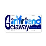 Girlfriend Getaway Asheville Aluminum License