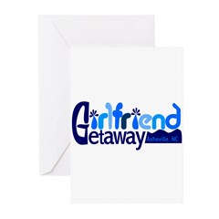 Girlfriend Getaway Asheville Greeting Cards (P