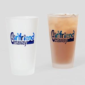 Girlfriend Getaway Asheville Drinking Glass