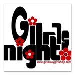 girls night out Square Car Magnet 3