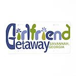 Girlfriend Getaway Savannah Aluminum License P