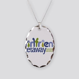 Girlfriend Getaway Savannah Necklace Oval Char
