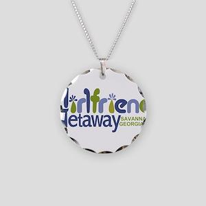 Girlfriend Getaway Savannah Necklace Circle Ch