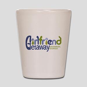 Girlfriend Getaway Savannah Shot Glass