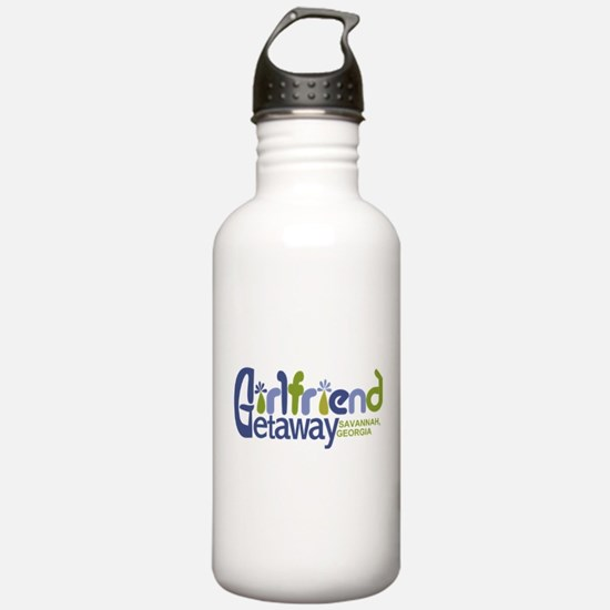 Girlfriend Getaway Savannah.png Water Bottle