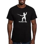Life Men's Fitted T-Shirt (dark)