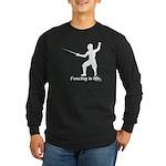 Life Long Sleeve Dark T-Shirt