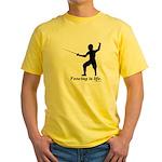 Life Yellow T-Shirt