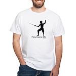 Life White T-Shirt