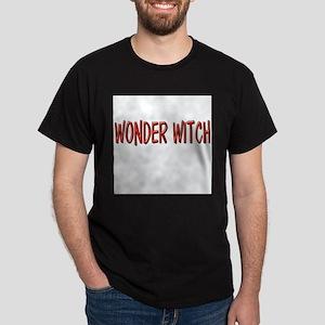 Wonder-Witch-White Dark T-Shirt