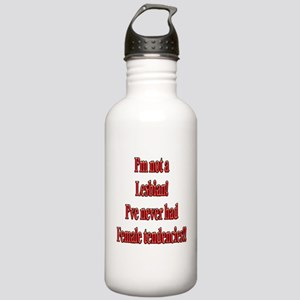 Not-a-Lesbian-white Stainless Water Bottle 1.0