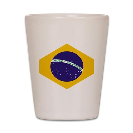Brazil Shot Glass