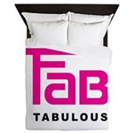 Fab Tabulous Queen Duvet