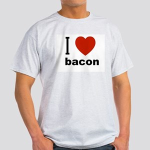 i love bacon.jpg Light T-Shirt