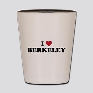 I Love Berkeley Shot Glass