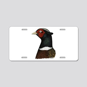 Ringneck Rooster Head Aluminum License Plate