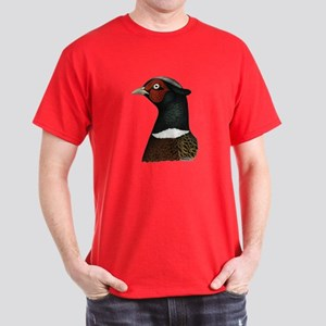 Ringneck Rooster Head Dark T-Shirt