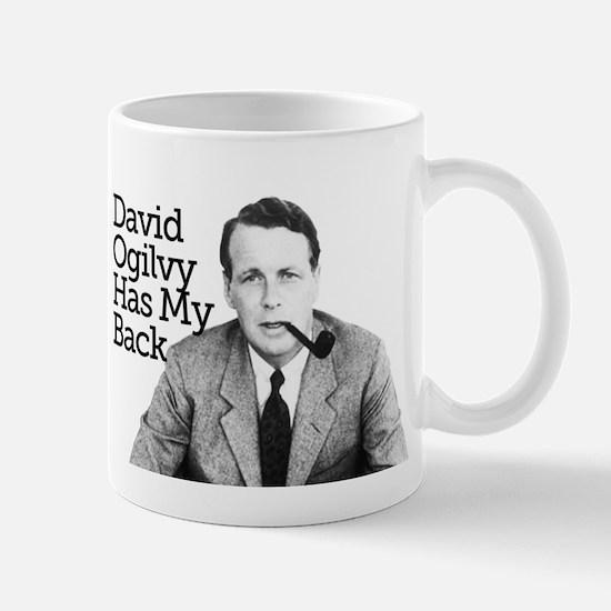 Eugene Schwartz  David Ogilvy Mugs