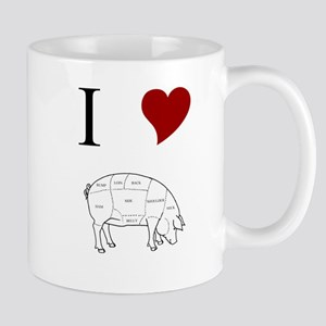 I Love Pig Mug