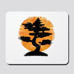 Vintage Bonsai Mousepad