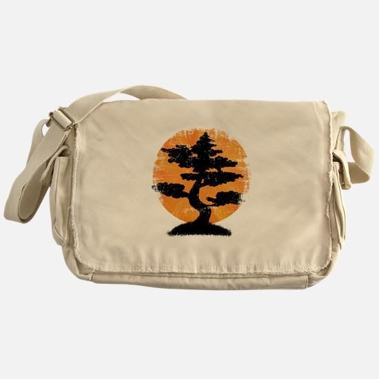 Vintage Bonsai Messenger Bag
