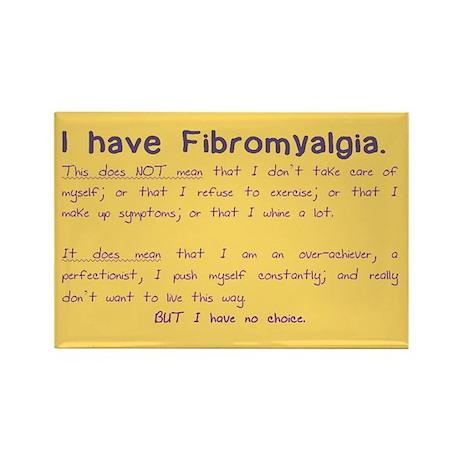 I have Fibromyalgia (Magnet)