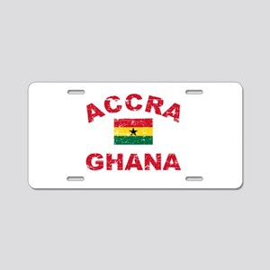 Accra Ghana designs Aluminum License Plate