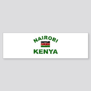 Nairobi Kenya designs Sticker (Bumper)